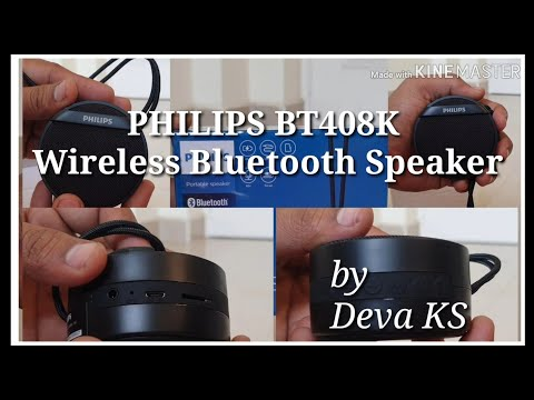 Philips Wireless Bluetooth speaker - Unboxing and Review - Tamil - Deva KS