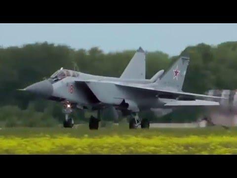 Mikoyan MiG-31 Demo Flight