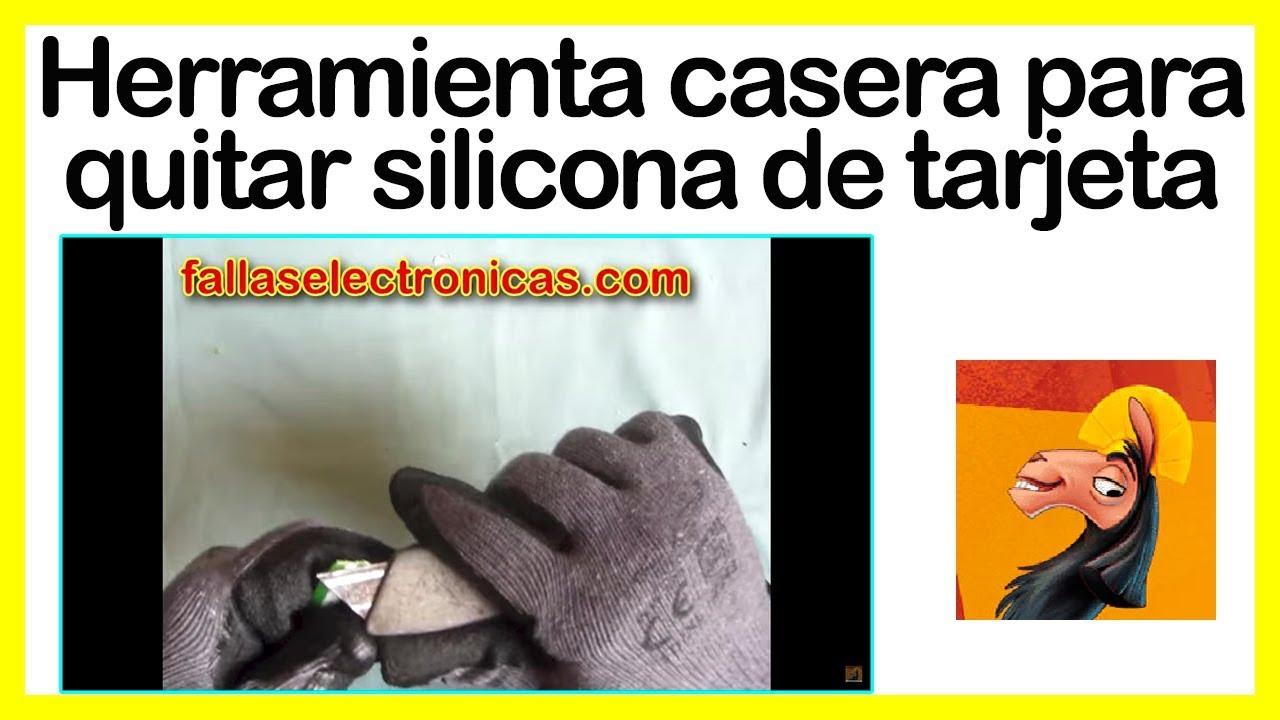 Herramienta para quitar silicona de tarjeta de lavadora - Como quitar silicona de la pared ...