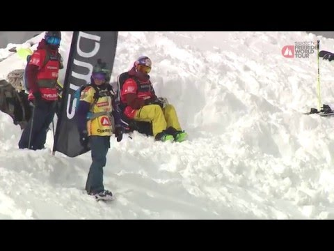 Run anne-flore marxer 3rd place - xtreme verbier - swatch freeride world tour 2016