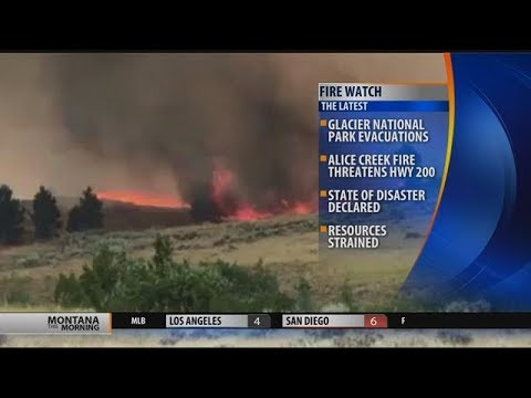 Montana FireWatch Update (Monday morning, September 4)