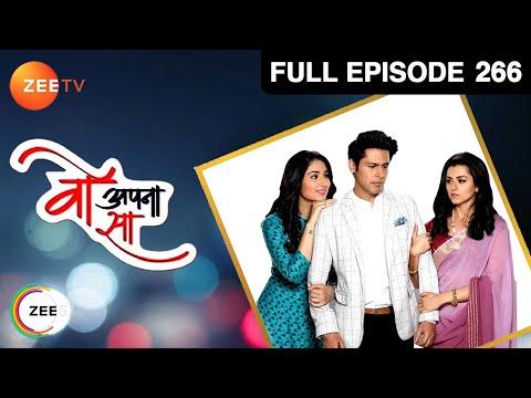 Woh Apna Sa   Hindi Serial   Full Episode - 266   Disha Parmar, Sudeep Sahir   Zee TV Show