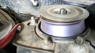 Опорники SS20 ВАЗ 2115 Хруст, скрипы и отсутствие вращения штока и чашки