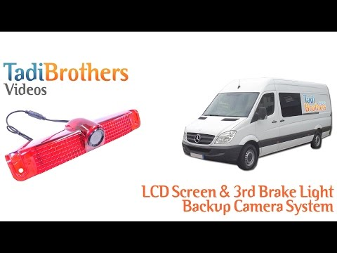 3rd Brake Light and Overhang Backup Camera Systems for Commercial and fleet Vehicles