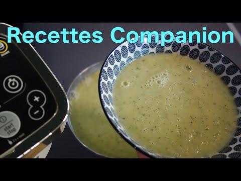 recettes-companion-de-brice---soupe-à-la-courgette