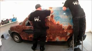 Fahrzeugvollverklebung - Carwrapping