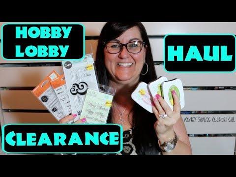 HOBBY LOBBY CLEARANCE HAUL