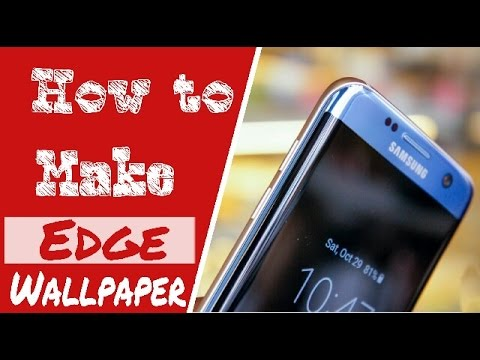 How to make edge wallpaper from Android