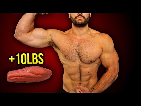 How to Build 10lbs of LEAN MUSCLE FAST [Step-By-Step]