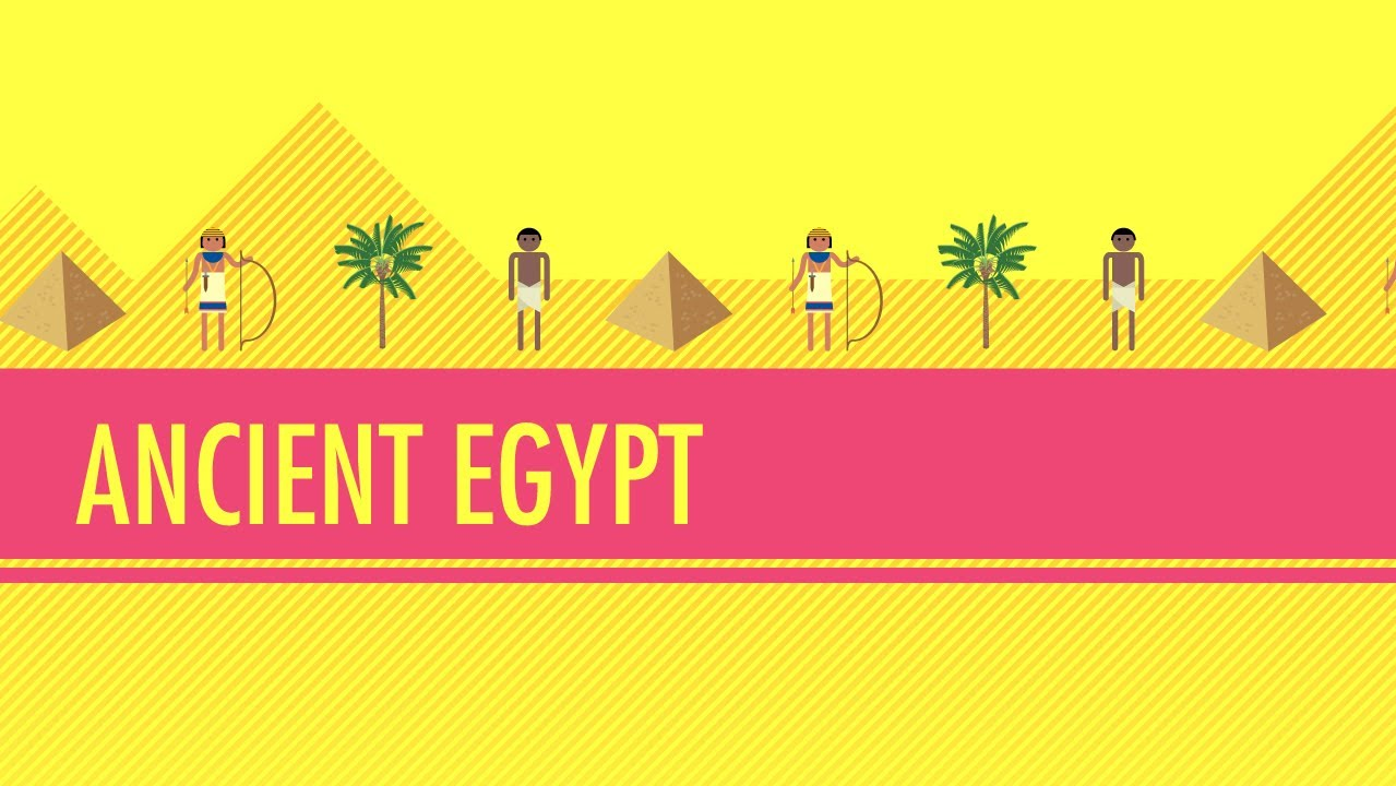 hight resolution of Ancient Egypt: Crash Course World History #4 - YouTube