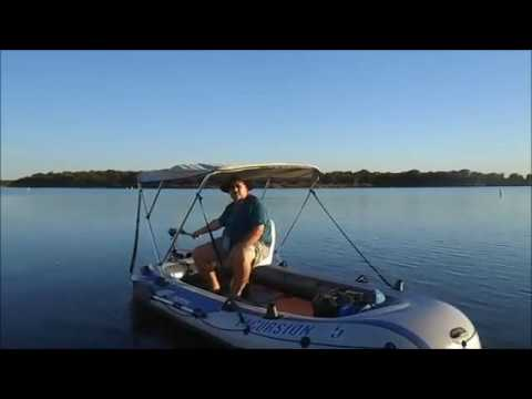 Intex excursion 5 boat cruise