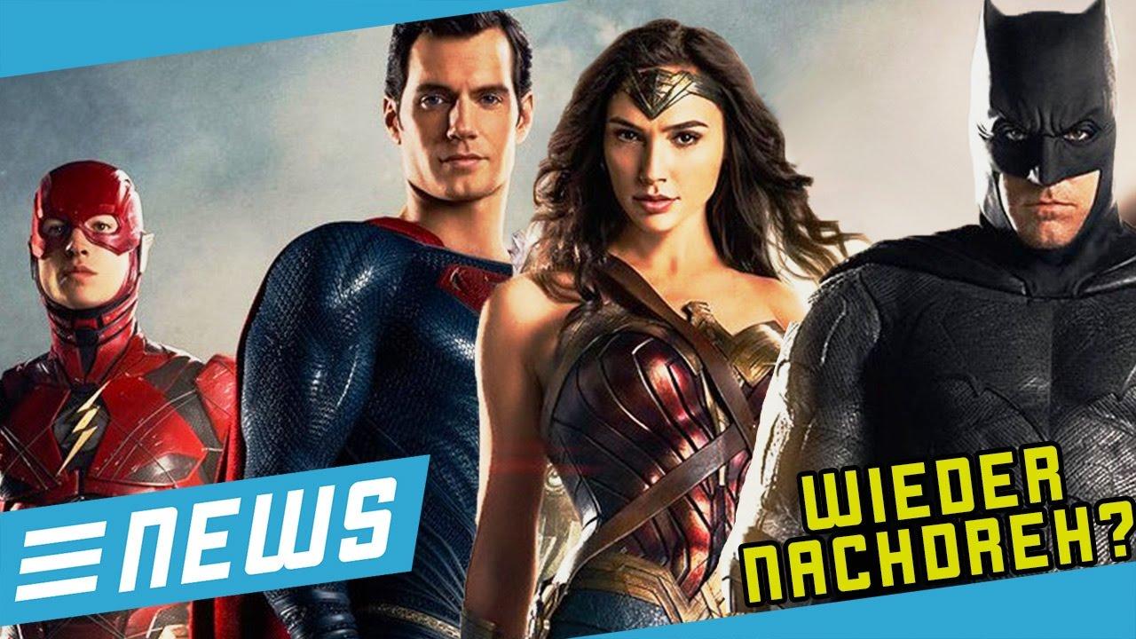 Justice League wird neu gedreht? - FLIPPS News