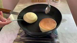 수플레 팬케이크 만들기 (노베이킹파우더,손머랭)