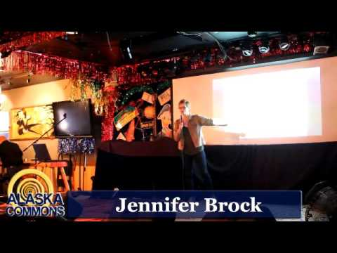 Anchorage Science Pub - Jennifer Brock & Rocky Capozzi