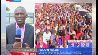 NASA team heads to Machakos and Kajiado county to drum up support for Raila Odinga