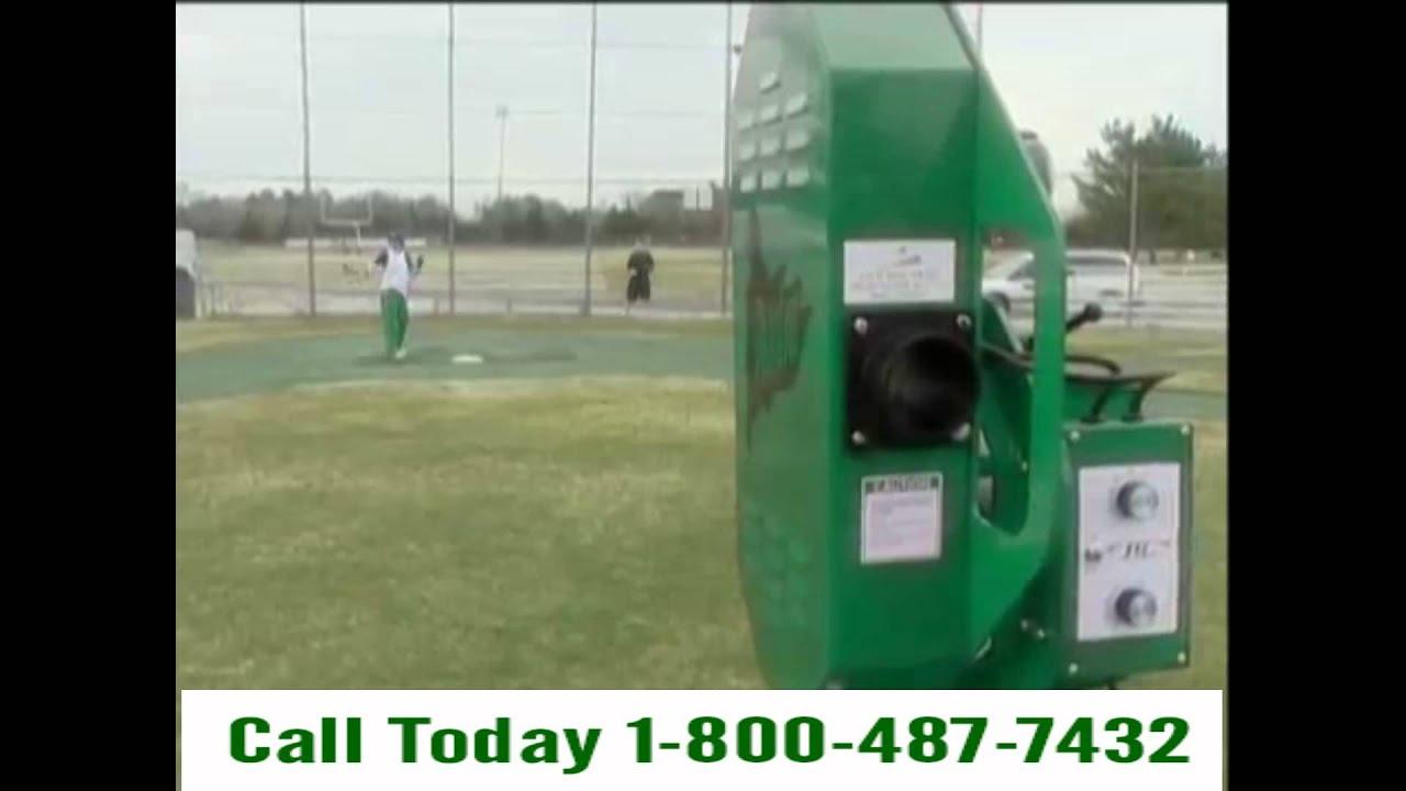 phantom safepitch pitching machine youtube