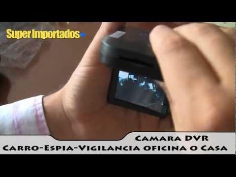 Camara DVR para carro - Camara Espia y Camara de Seguridad HD - SUPERIMPORTADOS
