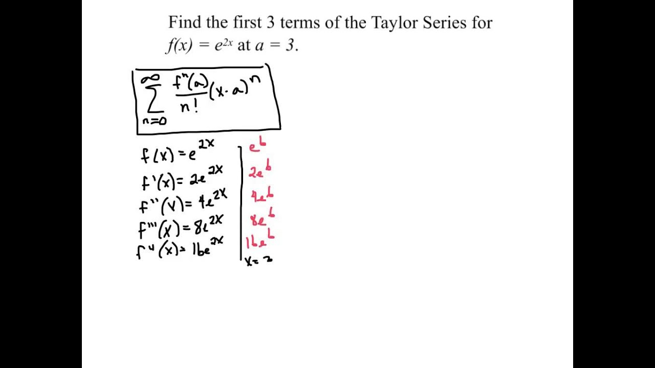 how to make taylor series