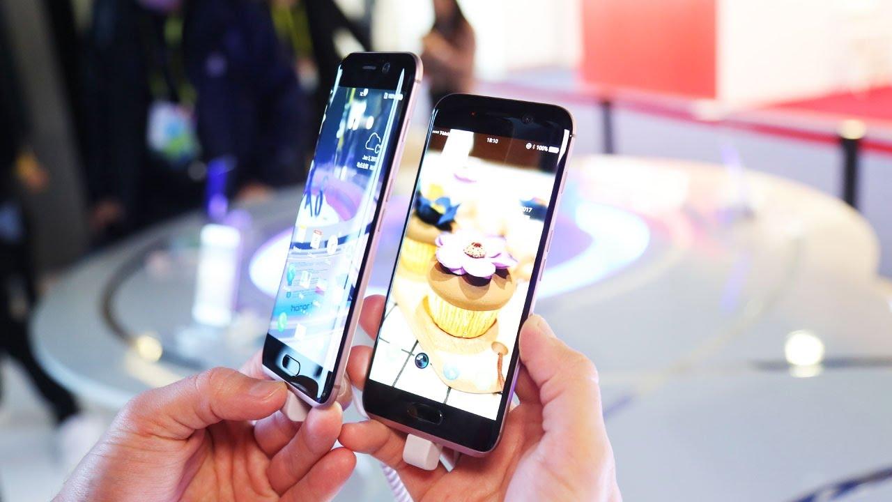 Первый обзор необычного смартфона Huawei Honor Magic