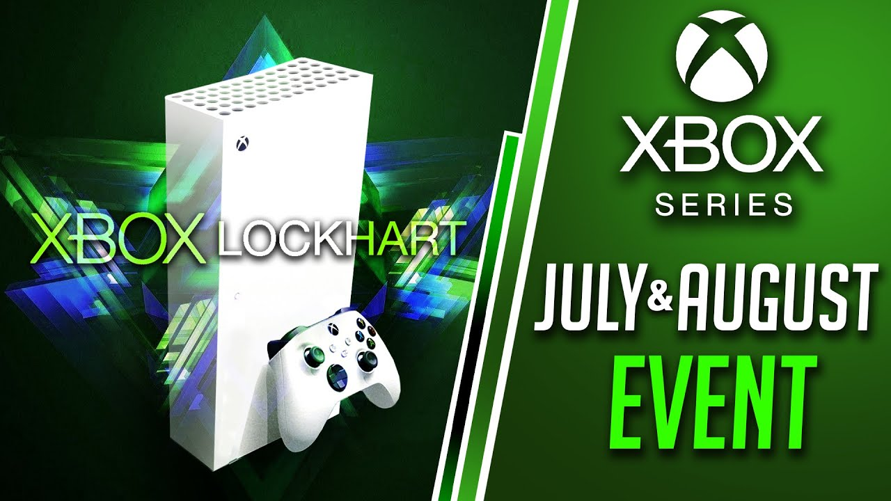 Xbox Series X July Event Date LEAK | Xbox Series S 'Lockhart' August Reveal?