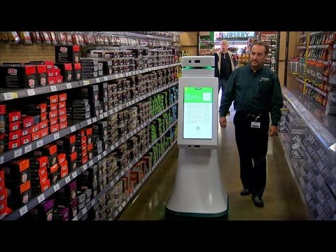 CNET News - Hardware store robot helps shoppers find products