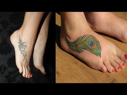 Meaningful Tattoo: Cute Foot Tattoo For Women