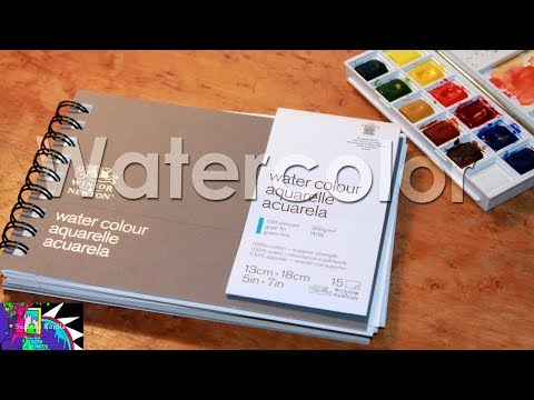 Winsor and Newton | Watercolor Paper Journal Review