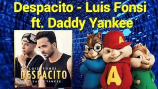 Despacito - Luis Fonsi ft. Daddy Yankee (Alvin y las Ardillas)