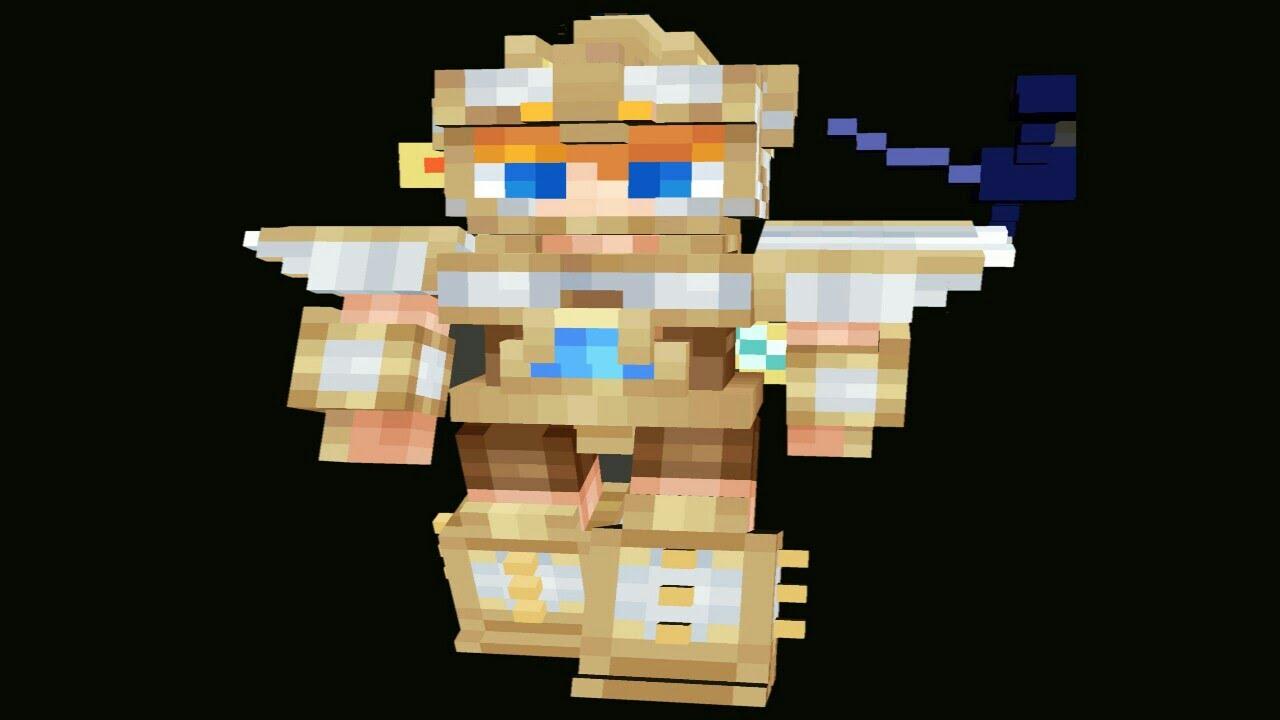 D Skins In MCPE YouTube - Skins para minecraft pe en 4d