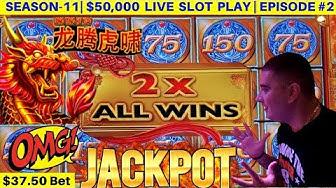 High Limit MIGHTY CASH Slot Machine HANDPAY JACKPOT - Full Screen Jackpot | SEASON-11 | EPISODE #2