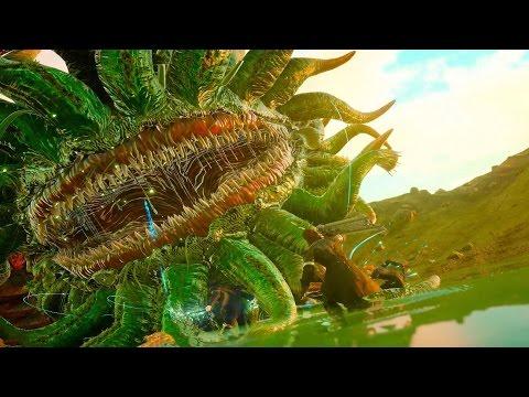 Final Fantasy 15: Malboro Boss Fight (1080p 60fps)