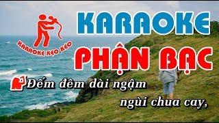 Karaoke Phận Bạc
