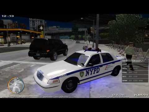Crown Victoria NYPD GTA IV