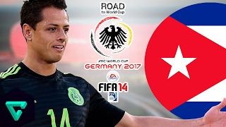 Mexico vs. Cuba   CONCACAF   Road To World Cup Germany 2017   FIFA 14