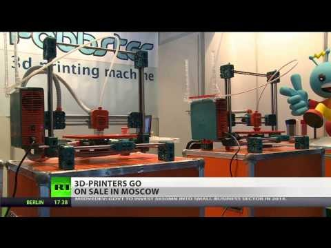 New dimension: 3D-printers go on sale in Moscow