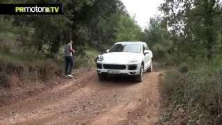Prueba nueva Cayenne Turbo en circuito Off Road con Aman Barfull by PRMotor TV Test