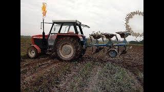 ☆Jesień w polu z Mateusz1982☆Wywóz obornika☆Orka zimowa☆