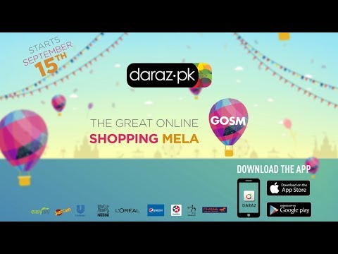 The Great Online Shopping Festival On Daraz