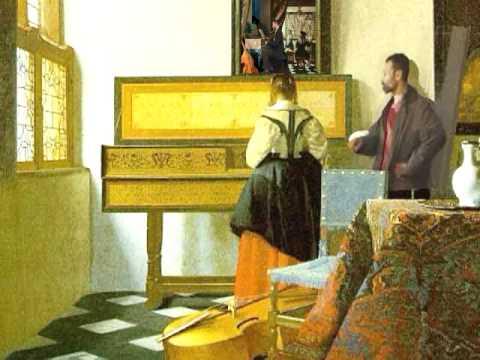Vermeer: the music lesson (almande de la Nonette)
