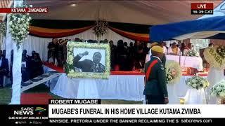 UPDATE: Robert Mugabe burial