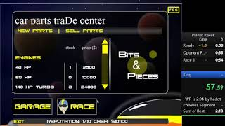 Speedrun - Planet Racer 2:23.11 (1st run)