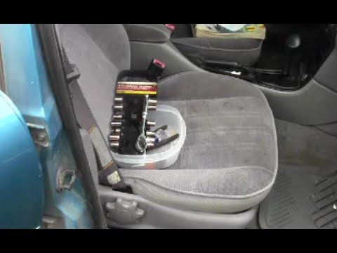 How to Remove Install Passenger's Seat - YouTube
