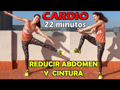 22 minute Cardio Abs and Obliques Workout. At Home Fat
