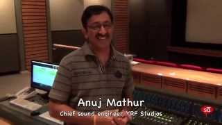 Film mix studio tour with sound engineer, Anuj Mathur | converSAtions