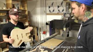 Making Of: Torsten Scholz [Beatsteaks] Sandberg California TSBS Bass