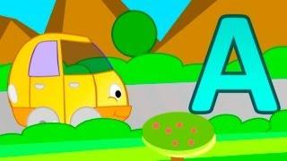 Мультфильмы про машинки - Буква А - Алфавит для детей