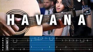 Video Camila Cabello - HAVANA - Cover (Fingerstyle Cover) + TAB Tutorial (Lesson) download MP3, 3GP, MP4, WEBM, AVI, FLV Agustus 2018