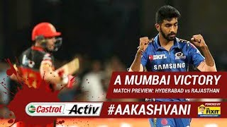 #IPL2019: #MI win amidst no-ball controversy: 'Castrol Activ' #AakashVani powered by 'Dr. Fixit'
