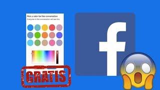 Facebook De Colores A Tu Gusto Desde Negro AmoleD Etc