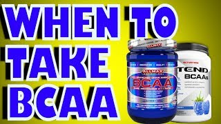[3.77 MB] When To Take BCAA Supplement?